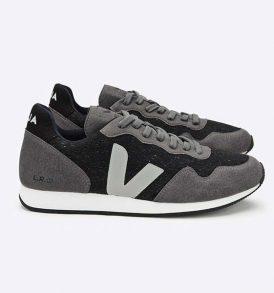 """VEJA Schuhe """"Flannel dark graphite"""" oxford grey"""