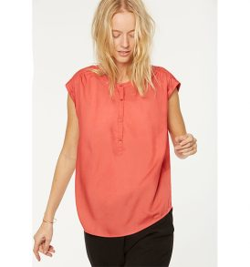 "ARMEDANGELS Bluse ""Marti"" mineral red"