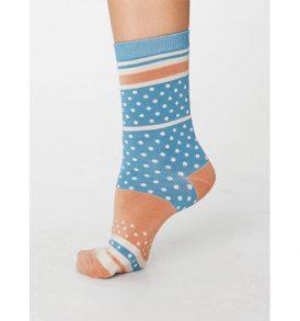 "THOUGHT Socken ""Maisy"" Bamboo Socks lagoon blue"