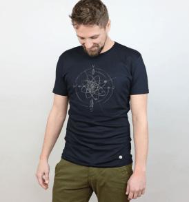 """GARY MASH T-Shirt """"Navigator"""" black"""