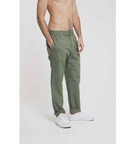 "THINKING MU ""Travel Pant"" green"