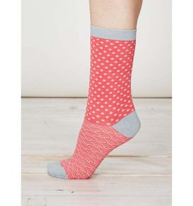"THOUGHT Damensocken ""Wren Bamboo Socks"" raspberry"
