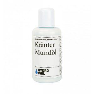 """HYDROPHIL """"Kräuter Mundöl"""" 100 ml, vegan"""