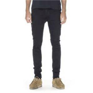 """NUDIE Jeans """"SkinnyLin"""" black black"""