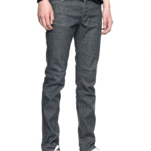 "NUDIE Jeans ""Grim Tim"" crinkle grey"