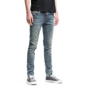 """NUDIE Jeans """"Skinny Lin"""" shimmering fall"""
