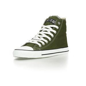 "ETHLETIC ""Fair Trainer"" Hi Cut camping green"