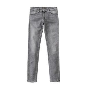 """NUDIE Jeans """"Skinny Lin"""" grey wolf"""
