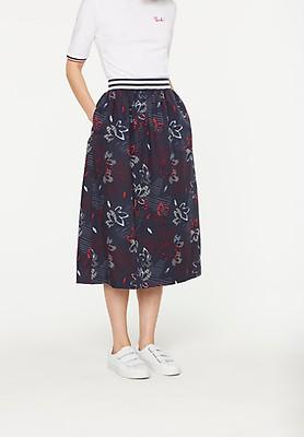 "ARMEDANGELS Skirt ""Mira Flower Confusion"" navy"