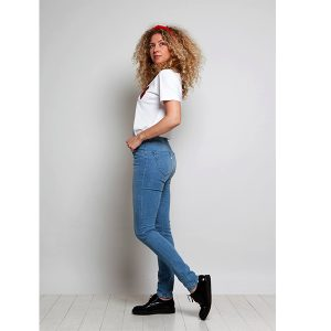 """MUD Jeans """"Skinny Hazen"""" blue pride"""