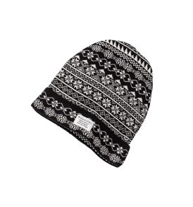 "RECOLUTION Beanie ""Pattern knit"""