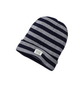 RECOLUTION Classic Knit Beanie Stripes