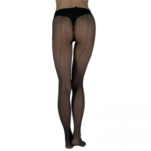 "SWEDISH STOCKINGS Strumpfhose ""Astrid fishnet"" black"