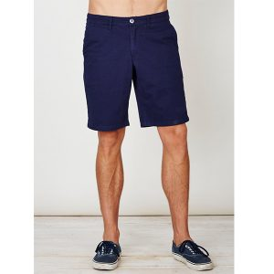 "THOUGHT Organic Cotton Shorts ""Jacob"" navy"