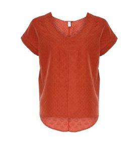 "LOVJOI T-Shirt ""Forja"" rust"