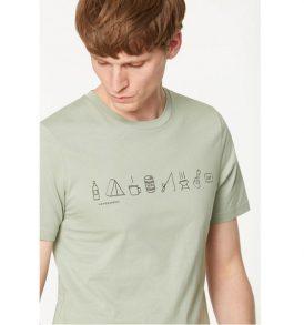 armedangels t-shirt james packing