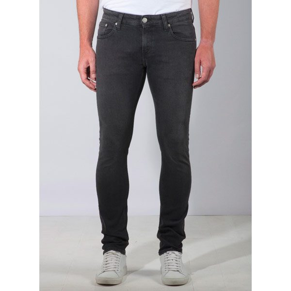 Mud Jeans Slim Lassen Stone Black