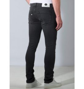 Mud Jeans Slim Lassen Stone Black