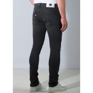 "MUD Jeans ""Slim Lassen"" stone black"