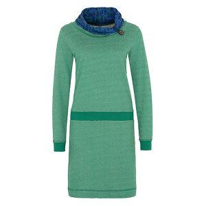"""TRANQUILLO Kleid """"Macarena"""" emerald – Grösse M"""