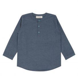 "SENSE ORGANICS ""Salvadore"" Shirt langarm light blue"