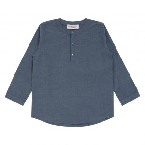 "SENSE ORGANICS ""Salvadore"" Shirt langarm light blue"