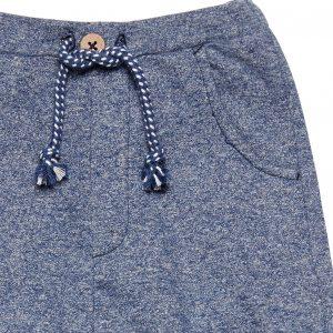 "SENSE ORGANICS Baby Sweat Pant ""Charles"" blue melange"
