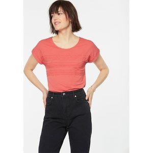 "ARMEDANGELS T-Shirt ""Mina"" mineral red"
