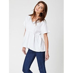 "THOUGHT ""Jazmenia"" Top white"