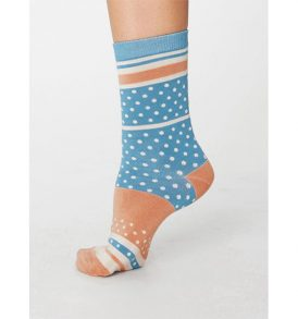 "THOUGHT Socken ""Maisy"" Bamboo Socks lagoon blue"