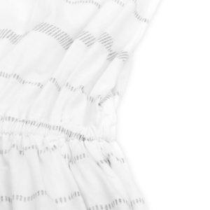 "BLEED ""Sporty Dress"" striped white"