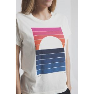 "THINKING MU Damen T-shirt ""sunrise"""