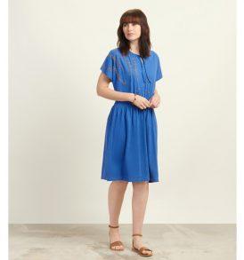 Komodo Dress Oud dutch blue