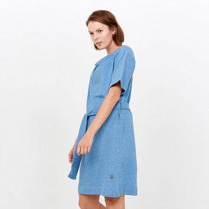 "TRANQUILLO Kleid ""Soldanella"" baltic melange"