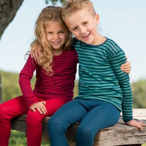 ENGEL Kinder-Unterhemd, Wolle/Seide, langarm