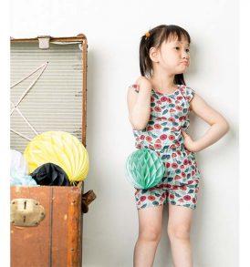 """SENSE ORGANICS short Jumpsuit """"Lotte"""" Umbrellas"""