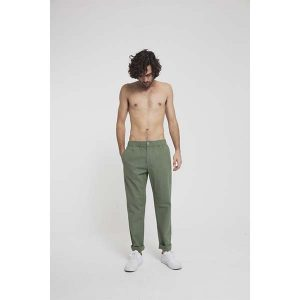 "THINKING MU ""Travel Pant"" green"