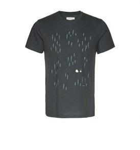 "ARMEDANGELS T-Shirt ""James Tent Forest"" acid black"