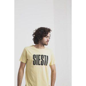 """THINKING MU T-Shirt """"Siesta"""" gelb"""