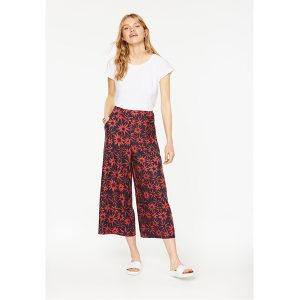 "ARMEDANGELS Hose ""Ilka Daisy Dust"" navy- mineral red"