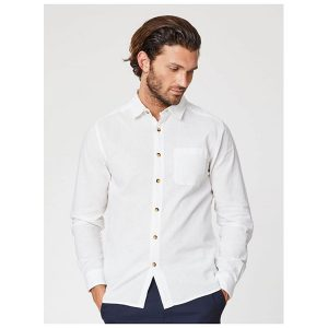 "THOUGHT Herrenhemd ""Avro Classic Hemp Long Sleeve Shirt"""