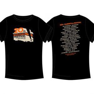 "Taubertal Festival T-Shirt 2015 ""Classic Black"""