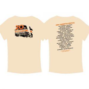 "Taubertal Festival T-Shirt 2015 ""Classic Sand"""