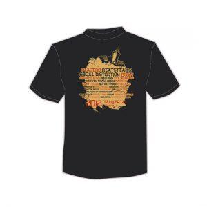 """Taubertal Festival T-Shirt 2012 """"Vintage"""" Herren"""