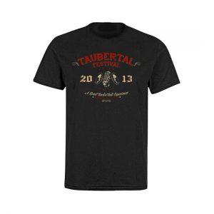 "Taubertal Festival T-Shirt 2013 ""Western"" Herren"