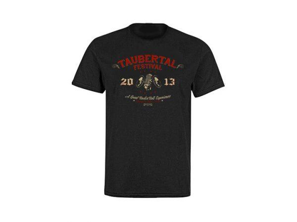 "Taubertal Festival T-Shirt 2013 ""Western"" Man"