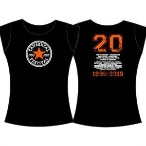 "Taubertal Festival 2015 T-Shirt ""Stern black"" Damen"