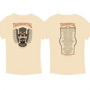 "Taubertal Festival T-Shirt 2015 ""Steampunk beige"" Herren"