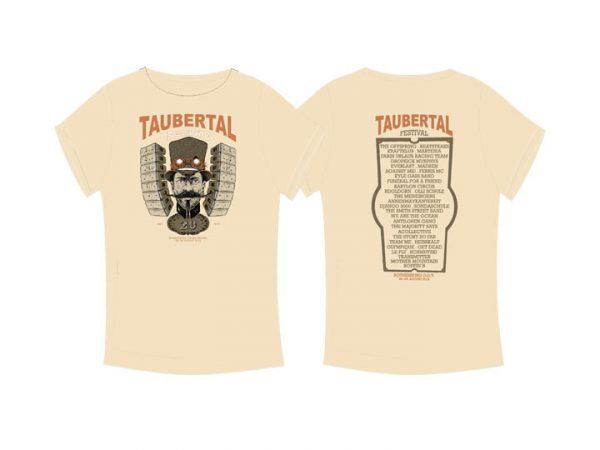 "Taubertal Festival T-Shirt 2015 ""Steampunk beige"" Man"