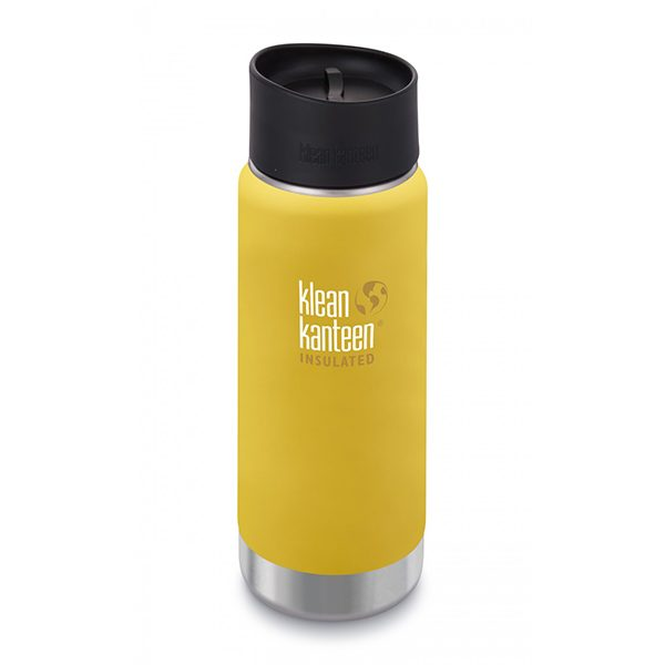 "KLEAN KANTEEN Trinkflasche ""Insulatet Wide"" mit Cafe Cap 473ml Large Isotherm"